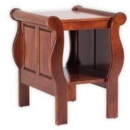 Sleigh End Table