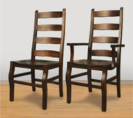 Rustic Carlisle Dining Chairs