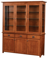 Amish Handcrafted Andalusia Hutch