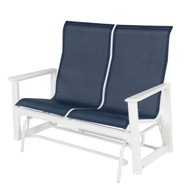 Cape Cod Sling High Back Double Glider