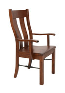 Amish Handcrafted Bayfield Captains Chair