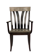 Amish Handcrafted Lennox Captains Chair