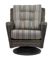 Capetown Wicker Swivel Rocker