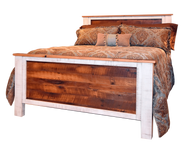 Amish Handcrafted Lincoln Barnwood Bed