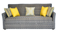 CANA (Quick Dry Foam) Wicker Sofa