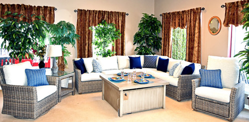 Cana Outdoor  Wicker Cushion Collection