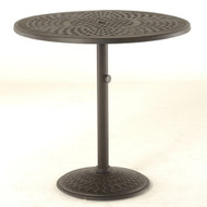 Hanamint Berkshire Round Pedestal Counter Height Table