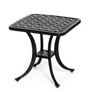 """Hanamint Newport 21"""" Square Tea Table"""