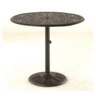 "Hanamint Chateau 42"" Round Umbrella Chat Table"