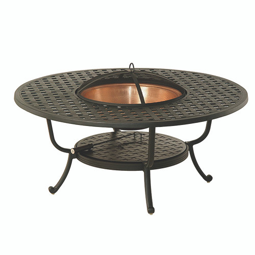 Hanamint Newport 48 Quot Round Fire Pit Table Southern