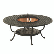 "Hanamint Newport 48"" Round Fire Pit Table"