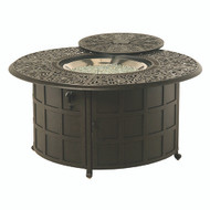 """Hanamint Tuscany 48"""" Round Enclosed Gas Fire Pit"""