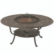 "Hanamint Tuscany 48"" Round Fire Pit Table"