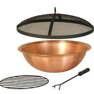 Hanamint Copper Bowl & Accessories
