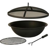 Hanamint Black Painted Steel Bowl Accessories