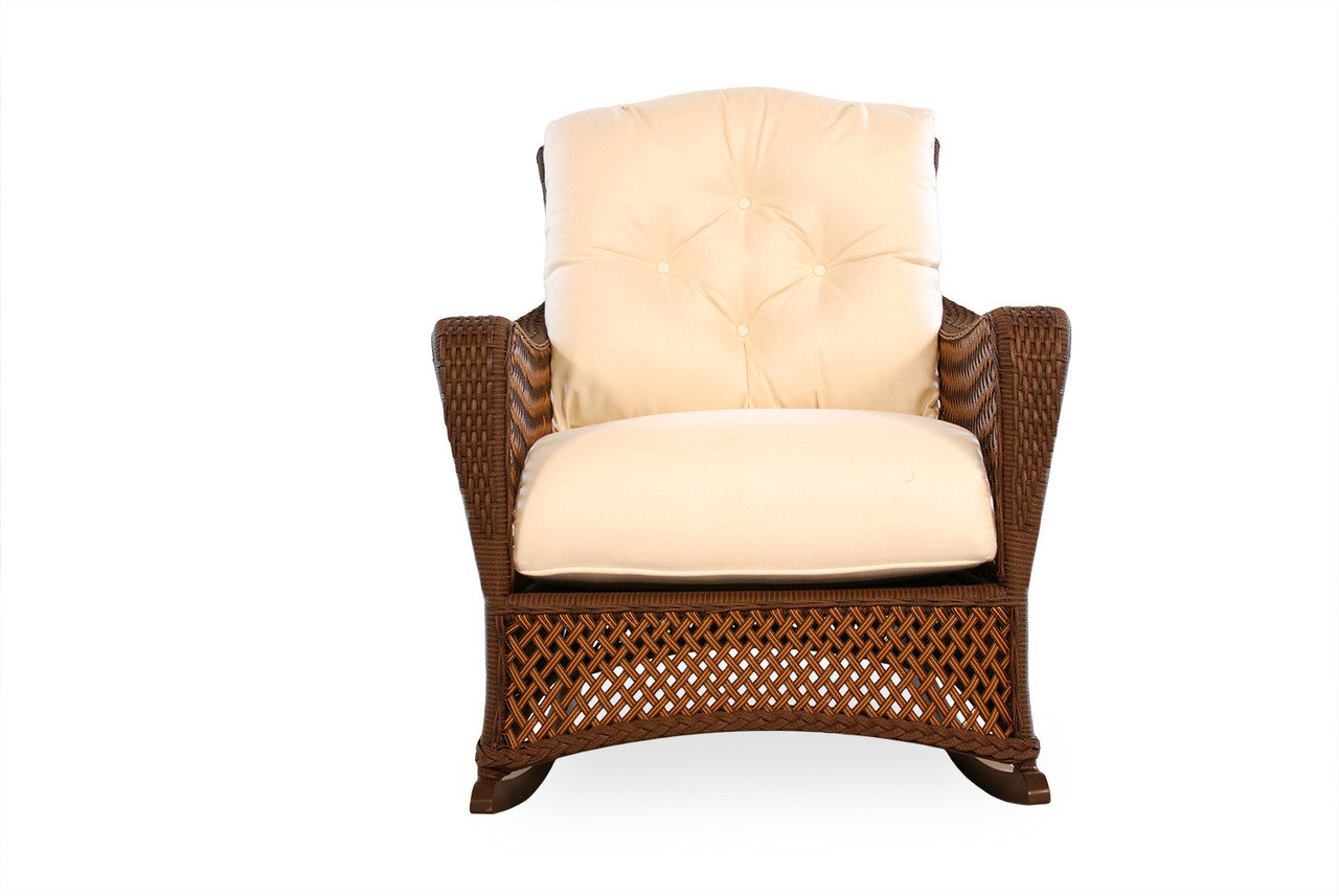 Lloyd Flanders Grand Traverse Lounge Rocker Southern Outdoor Furniture