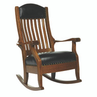 Amish Handcrafted Aunties Wide Rocker