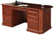 Amish Handcrafted Buckingham Executive Desk