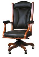Amish Handcrafted Buckingham Desk Chair