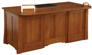 Amish Handcrafted Jamestown Executive Desk