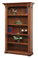 Amish Handcrafted Jefferson Bookcase