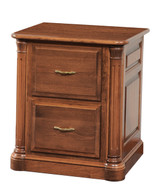 Amish Handcrafted Jefferson Two Drawer File