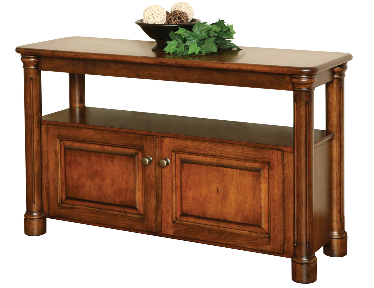 Amish Handcrafted Jefferson Sofa Table Southern Outdoor