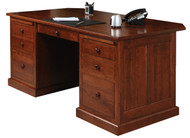 Amish Handcrafted Homestead Executive Desk