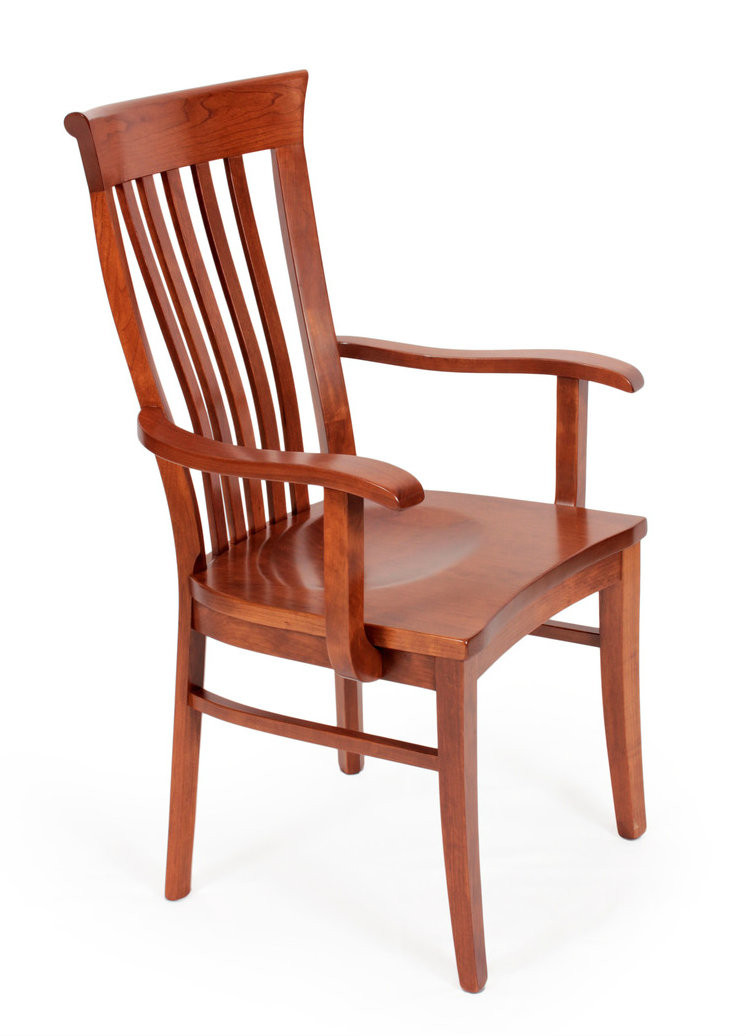 Delaney Arm Chair side view - Amish Handcrafted Delaney Arm Chair Southern Outdoor Furniture