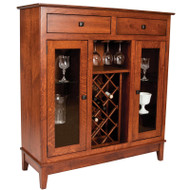 Amish Handcrafted Canterbury Cabinet