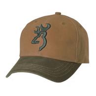 Browning Repel-Tex Cap/Hat-Acorn & Olive-3D BuckMark (308110341)