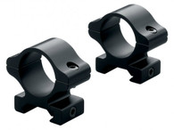 "Leupold Rifleman Detachable Scope Rings-Medium-1"" Gloss Black (57380)"