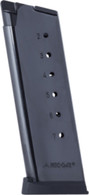 Mec-Gar 1911 Officer Model Magazine-7 Round .45 ACP Mag (MGCO4507BPF)