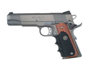 Pachmayr 1911 Grip-Wood Grip Panels W/Rubber Finger Grooves (00423)