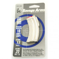Savage Arms Magazine-Mark II/501/504/900 Series .22LR/.17 MACH2-10 Round (90008)