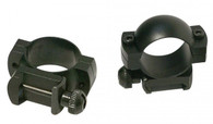 "Simmons Medium Height 1"" Scope Rings-Weaver or Picatinny Rail-Matte Black (49168)"