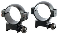 Simmons High Height 30mm Scope Rings-Weaver/Picatinny Rail-Matte Black (49175)