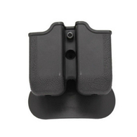 SigTac Double Mag Pouch-P250 45 ACP Black Polymer (MAGP-DBL-250-45-BLK)