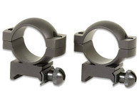 "Simmons Scope Rings-1"" Ring Weaver/Picatinny Rail-HIGH Mount-Matte Black (49172)"