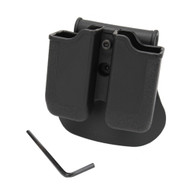 SigTac Double Mag Pouch-ROTO Paddle, USP 45 ACP (MAGP-DBL-MP05)