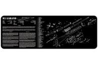"""TekMat M1-Garand-12"""" X 36"""" Rifle/Gun Cleaning Mat (36M1GARBK)"""