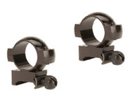 "Simmons Scope Rings - 1"" Black Gloss High Rings (49171)"