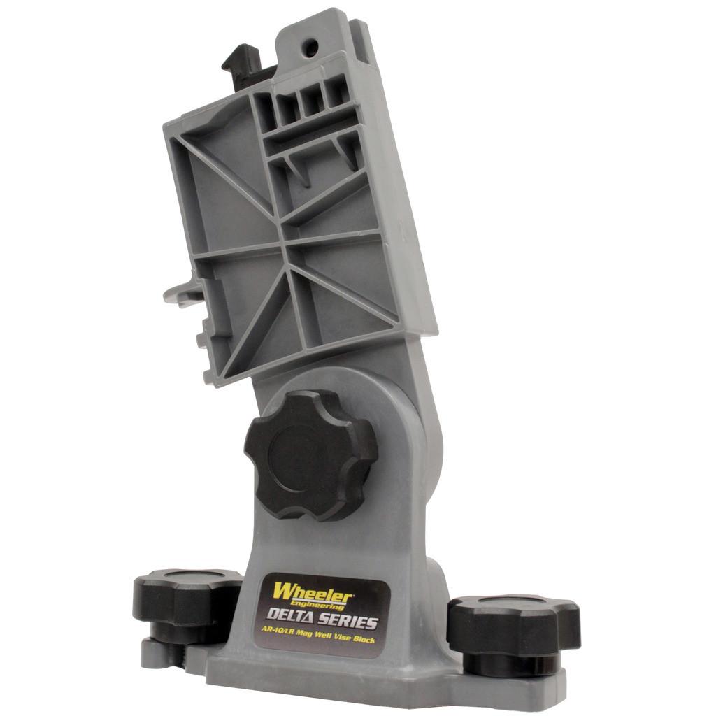Wheeler Delta Series AR-10 Mag Well Vise Block (146200)
