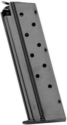 Mec-Gar 1911 Government Magazine 8 Round 10mm Pistol Mag MGCGOV10B