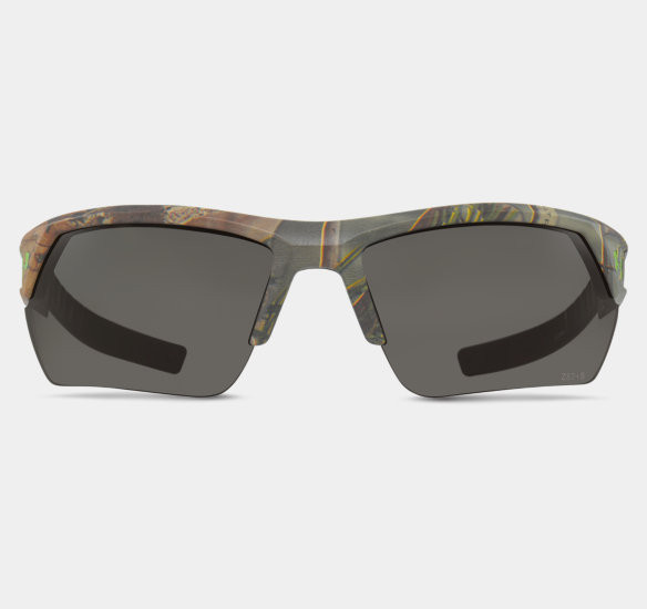 Under Armour UA Ace Youth Sunglasses Realtree AP Camo Frame Grey Multiflection