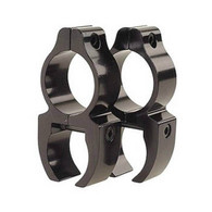 "Leupold Rifleman .22 Rimfire 1"" Detachable See-Thru Rings, Gloss Black"