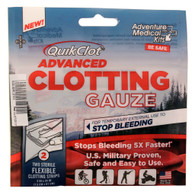 "Adventure Medical QuikClot Advanced Clotting Gauze 3""x24"" 2 Pack (5020-0016)"