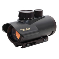 BSA Illuminated Red Dot Sight 5 MOA Matte Black (RD30)