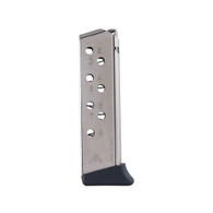 Mec-Gar Walther PP Magazine 8 Round .32 ACP Mag-Nickel (MGWPP32FRN)