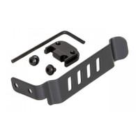 Techna-Clip Glock Pistol Belt Clip-Ambidextrous-Black (GLOCKBRL)